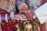 Kanyavaran rite Jain wedding ceremony