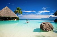 Tahiti is the ultimate Honeymoon dream for many couples!