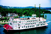 Branson Belle Steamboat - one of the great symbols of Branson.